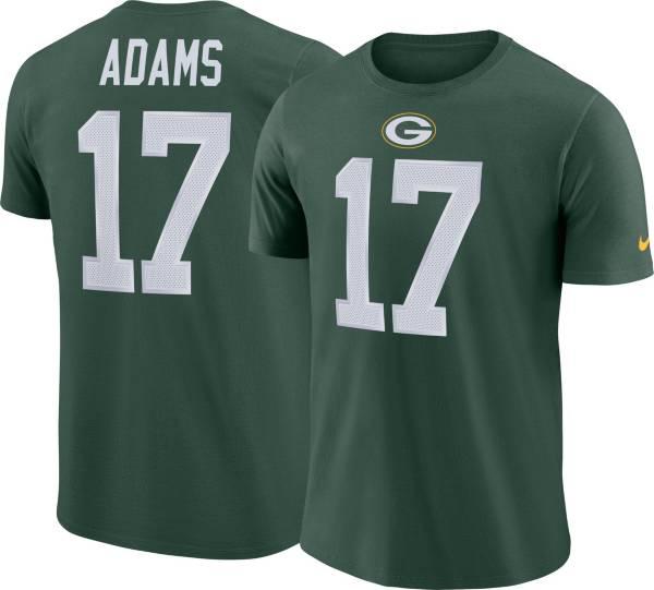 Nike Men's Green Bay Packers Davante Adams #17 Pride Logo Green T-Shirt product image