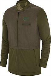 cc1e7c1f1 Nike Men's Salute to Service Green Bay Packers Hybrid Full-Zip Jacket.  noImageFound. Previous. 1. 2. 3. Next. View All 7 Images. 1 / 7. alternate 0