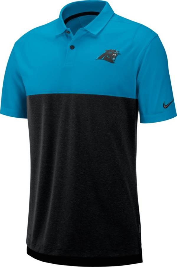 Nike Men's Carolina Panthers Sideline Early Season Blue Polo product image