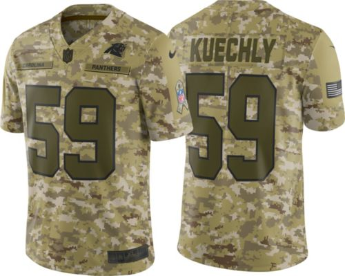 386b0bb50 Nike Men s Salute to Service Carolina Panthers Luke Kuechly  59 Camouflage Limited  Jersey. noImageFound. Previous
