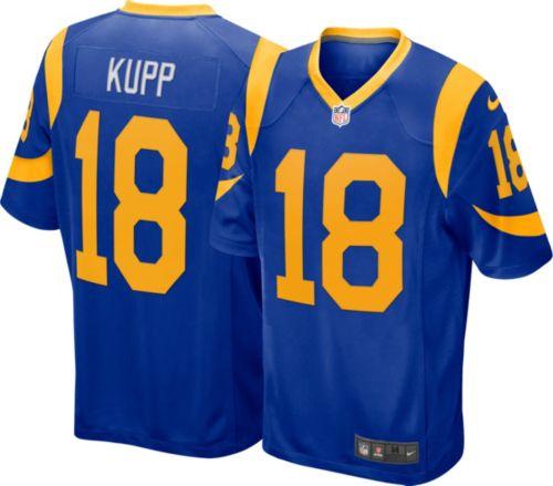 ffce7f216bf Nike Men s Alternate Game Jersey Los Angeles Rams Cooper Kupp  18.  noImageFound. Previous