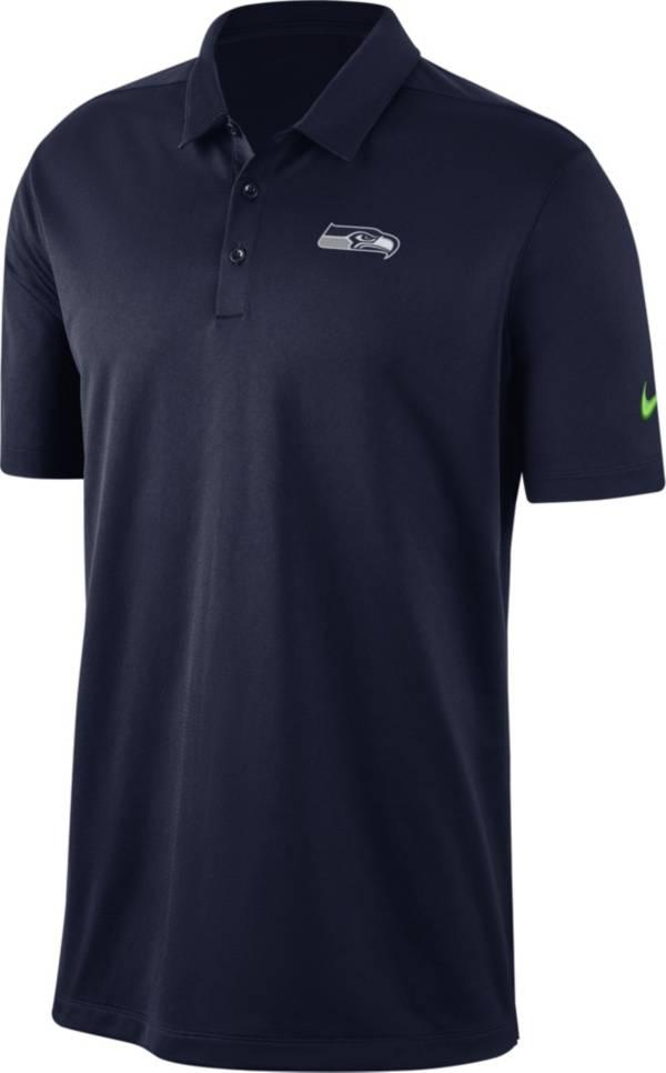 Nike Men's Seattle Seahawks Franchise Navy Polo product image