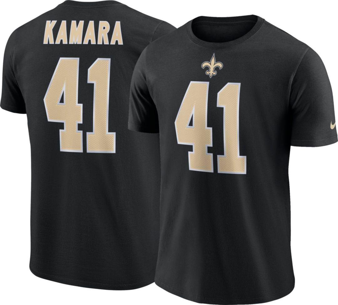 4079b637 Alvin Kamara #41 Nike Men's New Orleans Saints Pride Black T-Shirt