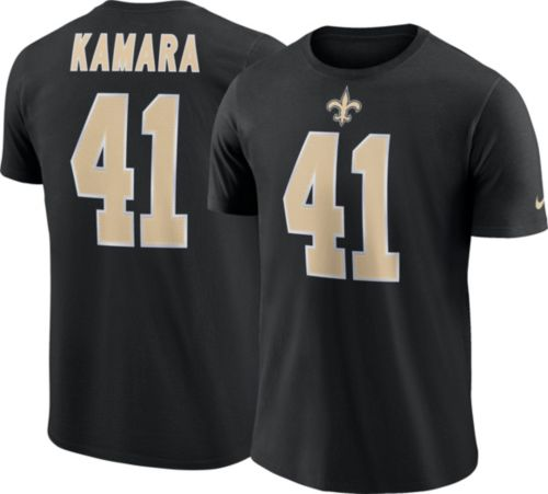 0fd15af11 Alvin Kamara  41 Nike Men s New Orleans Saints Pride Black T-Shirt ...