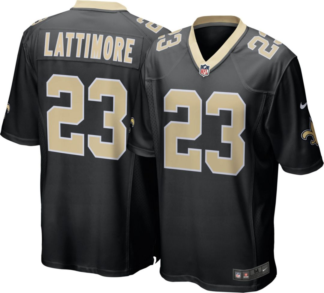 check out f33f3 d8a29 Nike Men s Home Game Jersey New Orleans Saints Marshon Lattimore  23.  noImageFound. Previous