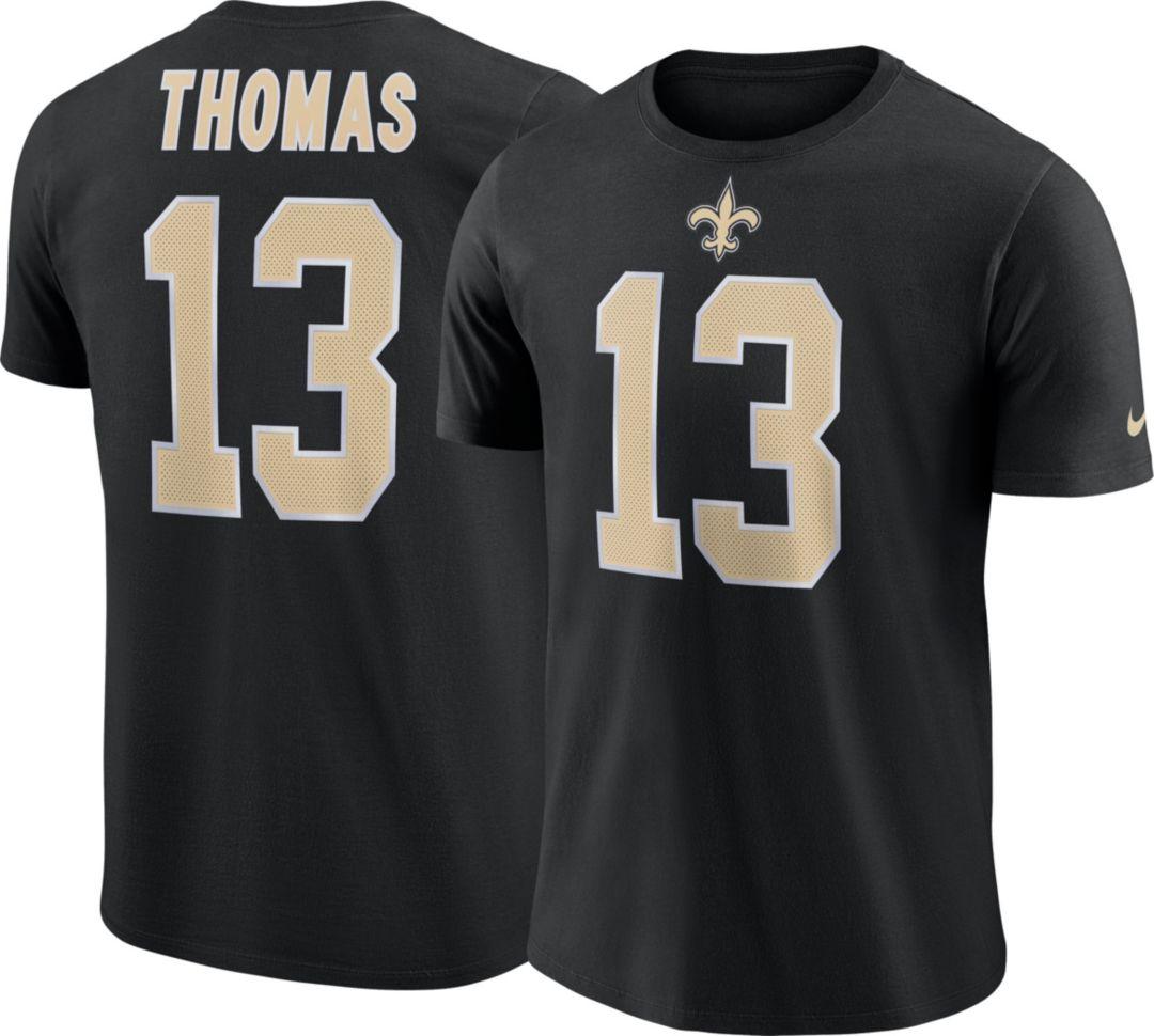 promo code f0e5e b2619 Nike Men s New Orleans Saints Michael Thomas  13 Pride Logo Blue T-Shirt    DICK S Sporting Goods