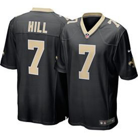 176ddc83 Nike Men's Home Game Jersey New Orleans Saints Taysom Hill #7
