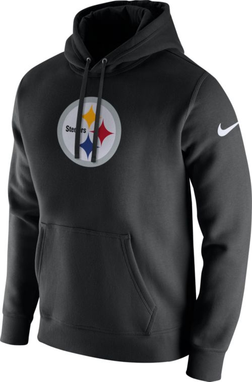 Nike Men s Pittsburgh Steelers Logo Club Black Hoodie. noImageFound.  Previous 0b11874e1