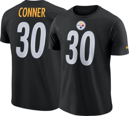 755248b64 Nike Men s Pittsburgh Steelers James Conner  30 Pride Logo Black T-Shirt.  noImageFound. Previous