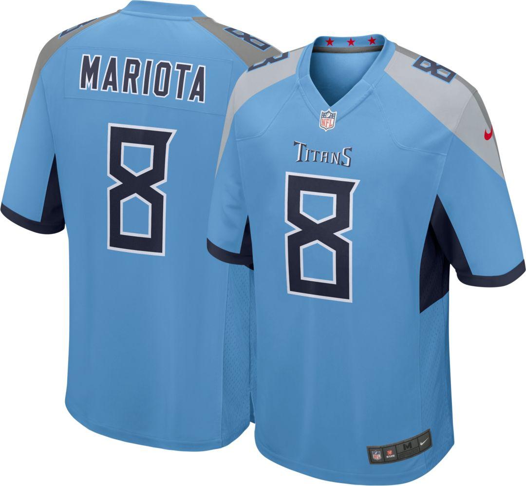 049f002a Nike Men's Alternate Game Jersey Tennessee Titans Marcus Mariota #8.  noImageFound. Previous