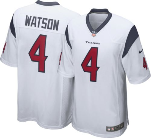 e3088731b Nike Men s Away Game Jersey Houston Texans Deshaun Watson  4. noImageFound.  Previous