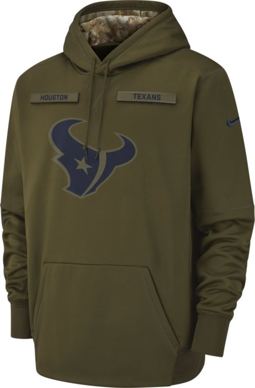 ab0d211f5400 Nike Men s Salute to Service Houston Texans Therma-FIT Performance Hoodie.  noImageFound. Previous