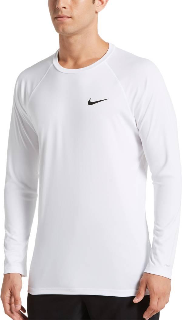 Nike Men's Solid Long Sleeve Rash Guard product image