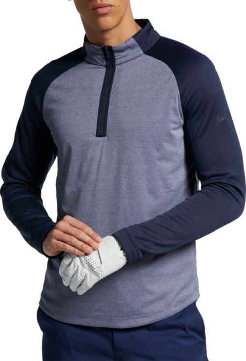 4b14cfea Nike Men's AeroLayer Golf ¼ Zip. noImageFound. Previous