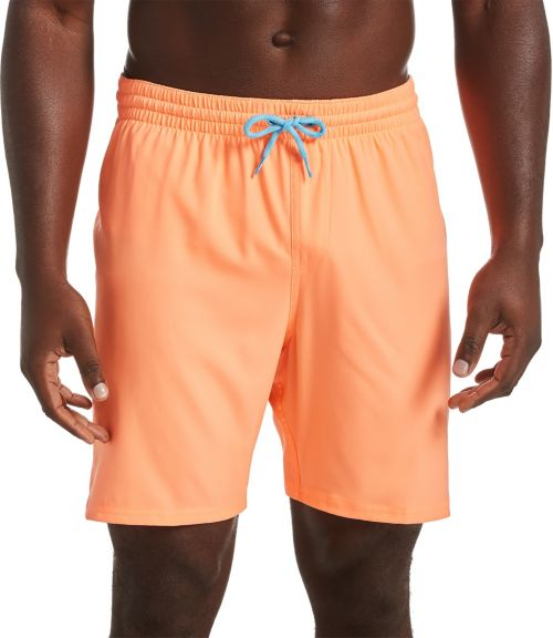 "c9e512f6c8 Nike Men's Solid Vital 7"" Volley Swim Trunks 