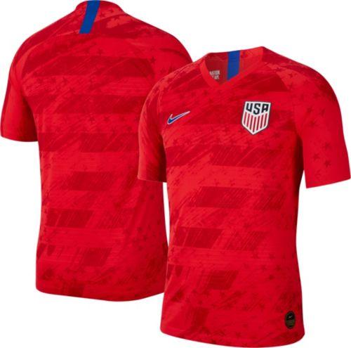 033efb62e Nike Men s USA Soccer  19 Vapor Authentic Match Away Jersey. noImageFound.  Previous