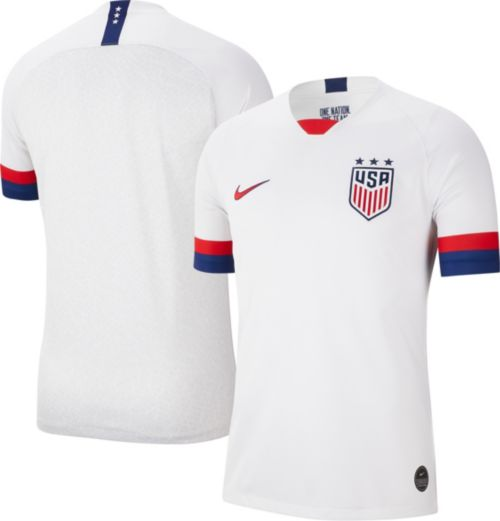 337a2495a Nike Men's 2019 FIFA Women's World Cup USA Soccer Breathe Stadium Home  Replica Jersey. noImageFound. Previous
