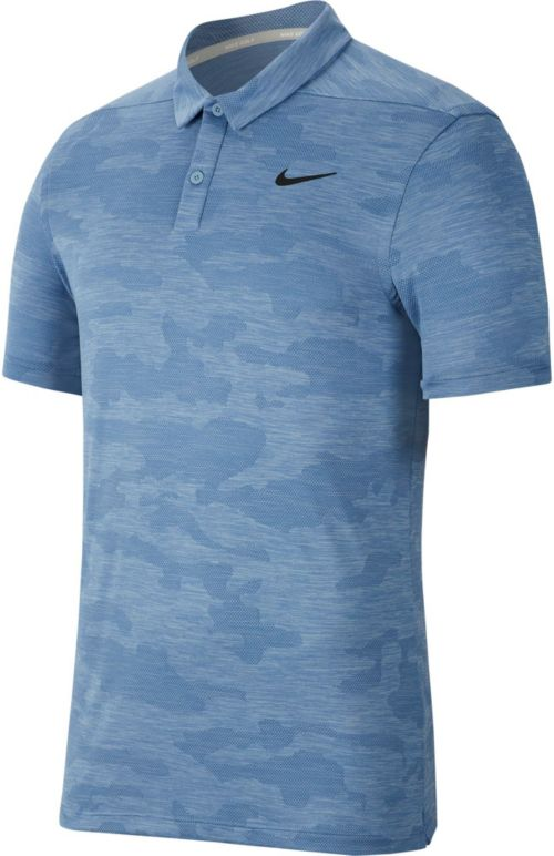 557443923 Nike Men's Zonal Cooling Camo Golf Polo. noImageFound. Previous