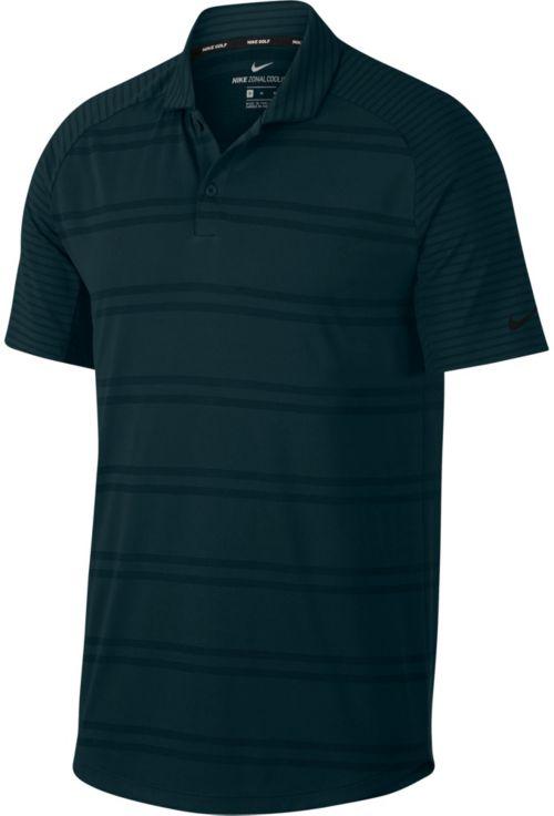 e0353d4e Nike Men's Zonal Cooling Stripe Raglan Golf Polo. noImageFound. Previous