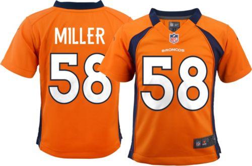 114ccb209 Nike Toddler Home Game Jersey Denver Broncos Von Miller  58