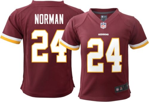 7f0afbba0 Nike Toddler Home Game Jersey Washington Redskins Josh Norman  24.  noImageFound. Previous