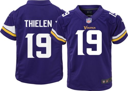 Nike Toddler Home Game Jersey Minnesota Vikings Adam Thielen  19 ... 499df3a15