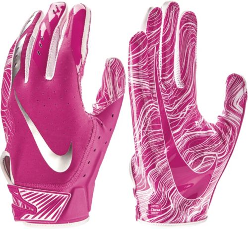 the latest 1f573 414f0 Nike Adult Vapor Jet 5.0 Breast Cancer Awareness Receiver Gloves 2018