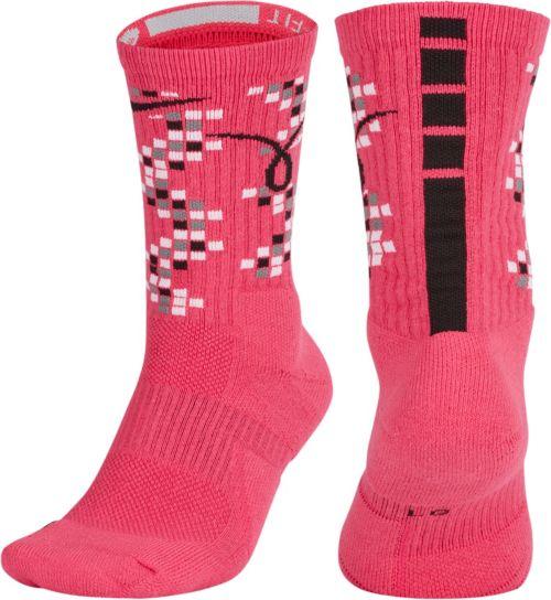 new concept 82394 57658 Nike Elite Kay Yow Basketball Crew Socks. noImageFound. Previous