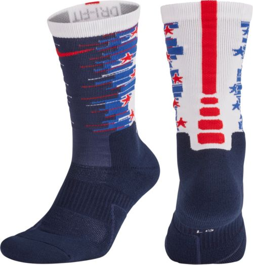 Nike Elite 1.5 4th of July Crew Socks  1414e2eaa9
