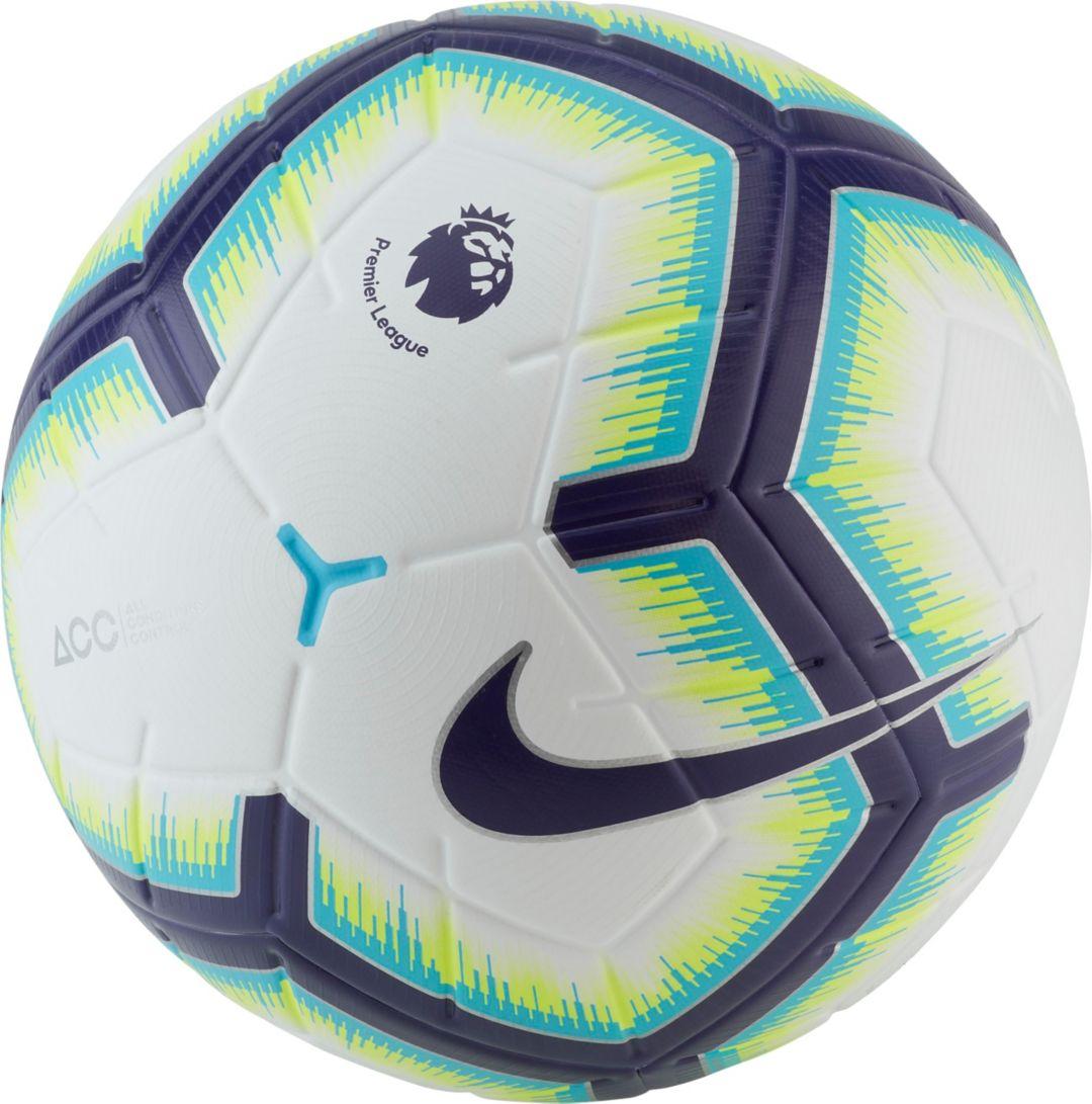 a1161015d Nike Merlin Premier League Official Match Soccer Ball | DICK'S ...