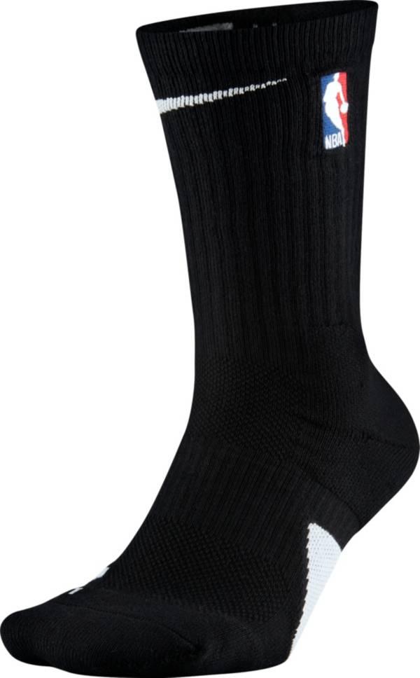 Nike NBA League Black Elite Crew Socks