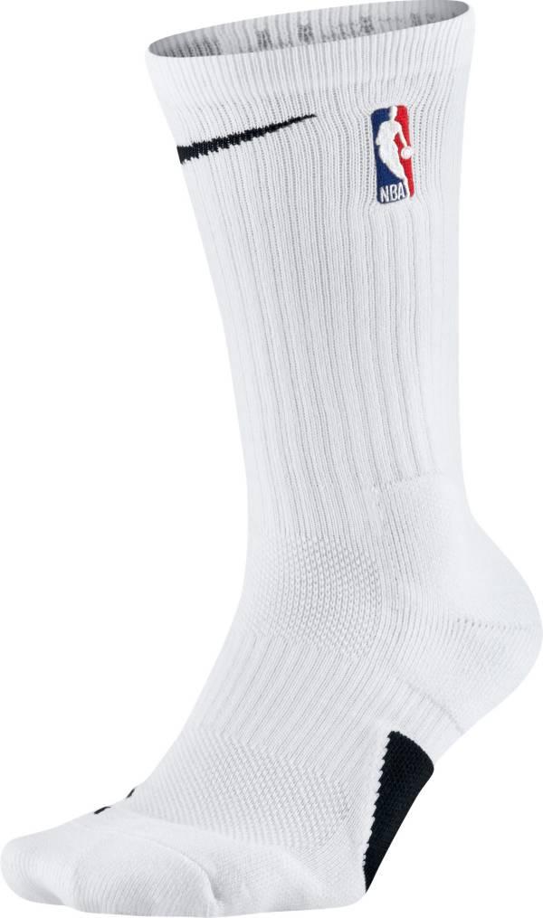 Nike NBA League White Elite Crew Socks product image