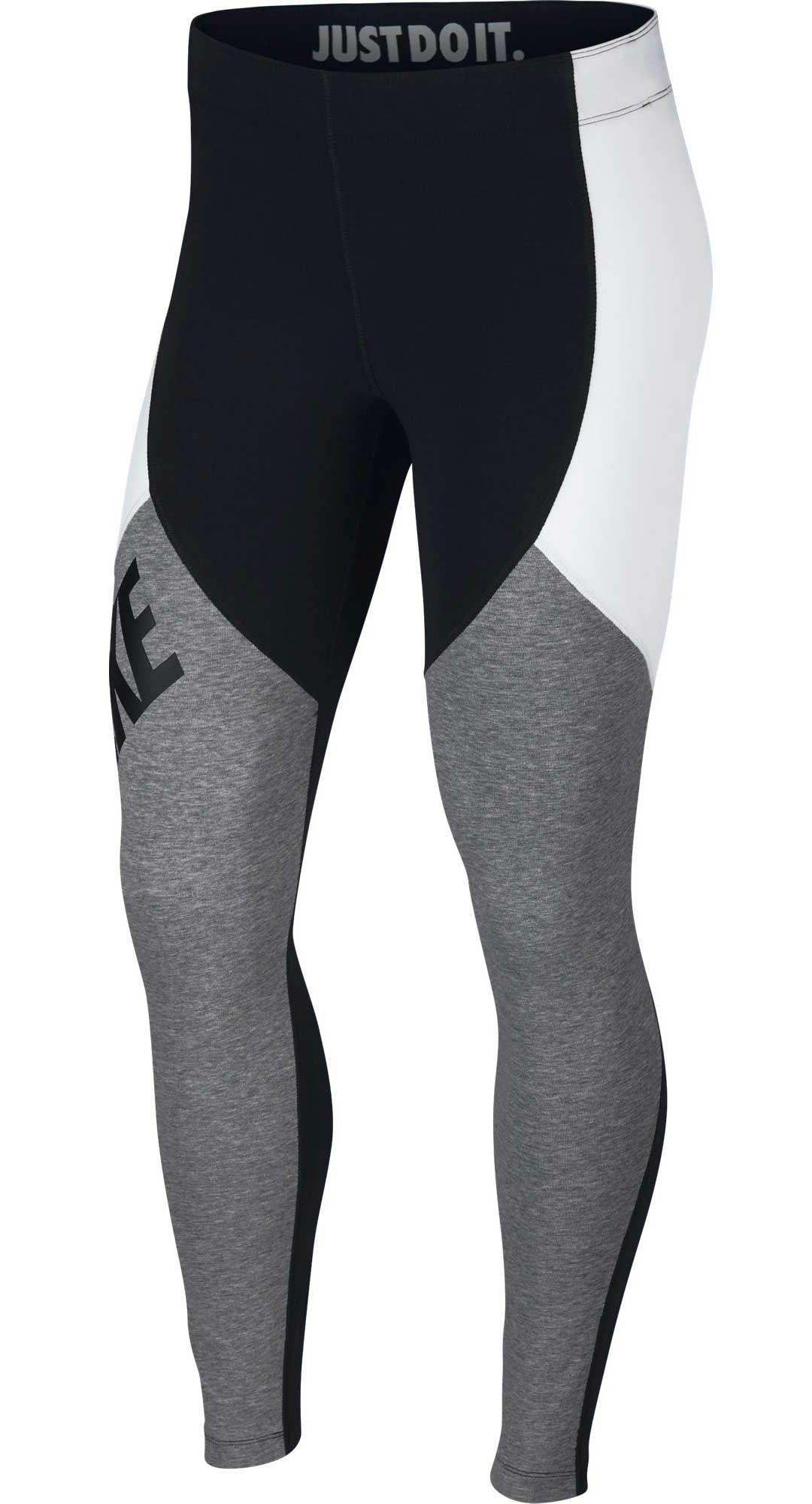 f8fbb3ffdf29f Nike Women's Colorblock Leg-A-See Leggings. noImageFound. Previous