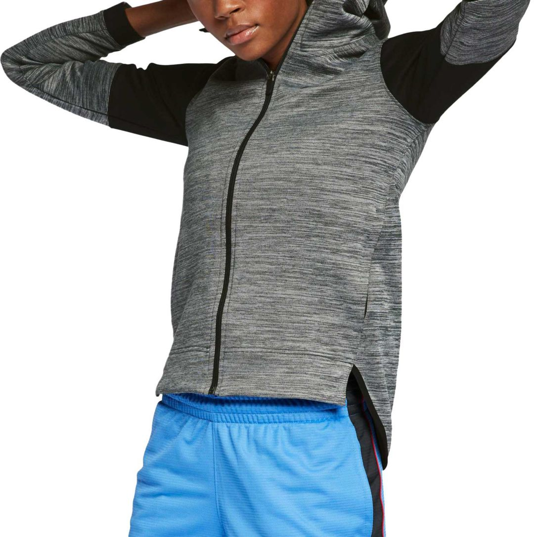 07262d6b Nike Women's Spotlight Full-Zip Basketball Hoodie. noImageFound. Previous