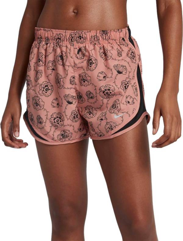Nike Women's Dry Floral Printed 3'' Tempo Running Shorts product image