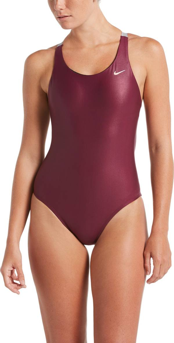 Nike Women's Flash Bonded Fastback One Piece Swimsuit product image