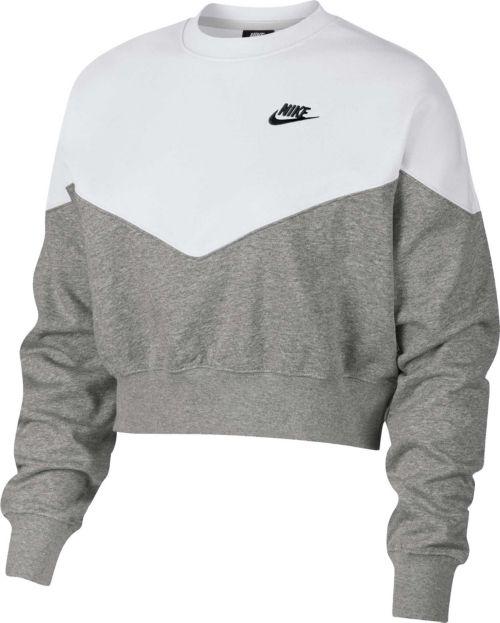 82c106d1ef3 Nike Women s Sportswear Heritage Crew Pullover