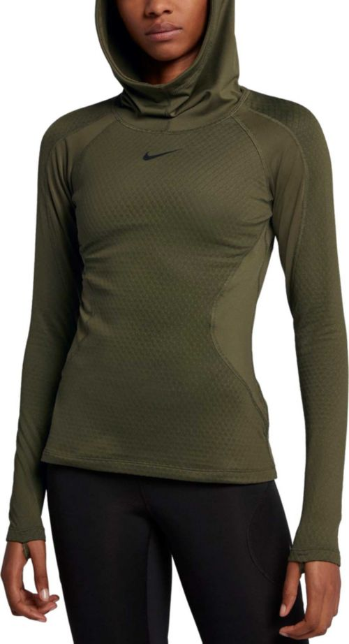 fa66e7af Nike Women's Pro HyperWarm Training Hoodie | DICK'S Sporting Goods