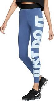 leggings nike blu