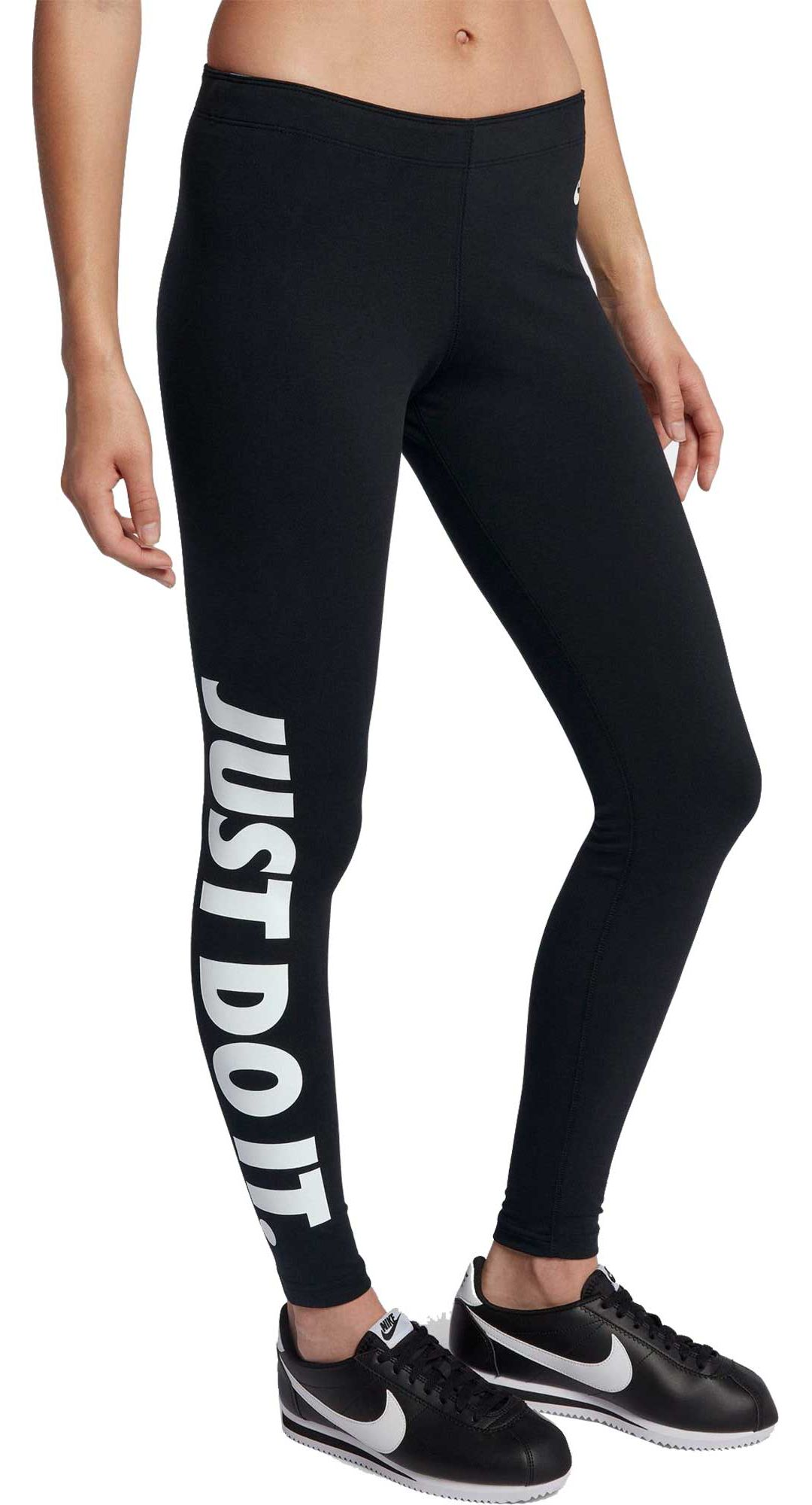 46b42d881d0b4d Nike Women's Sportswear Just Do It Leg-A-See Leggings. noImageFound.  Previous