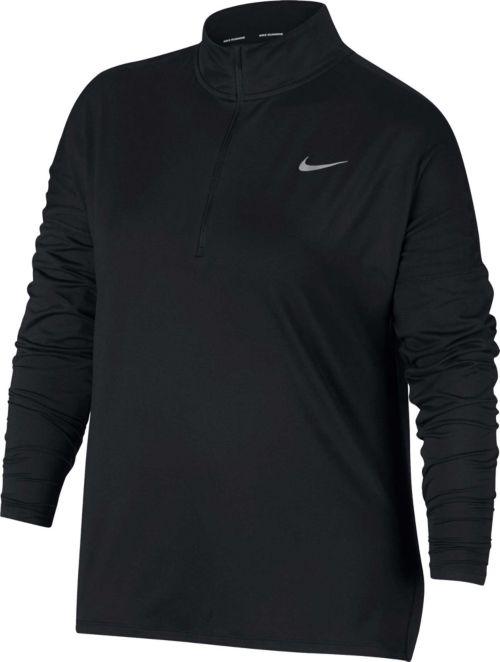 a07da0b8d81 Nike Women s Plus Size Element Half-Zip Running Shirt. noImageFound.  Previous
