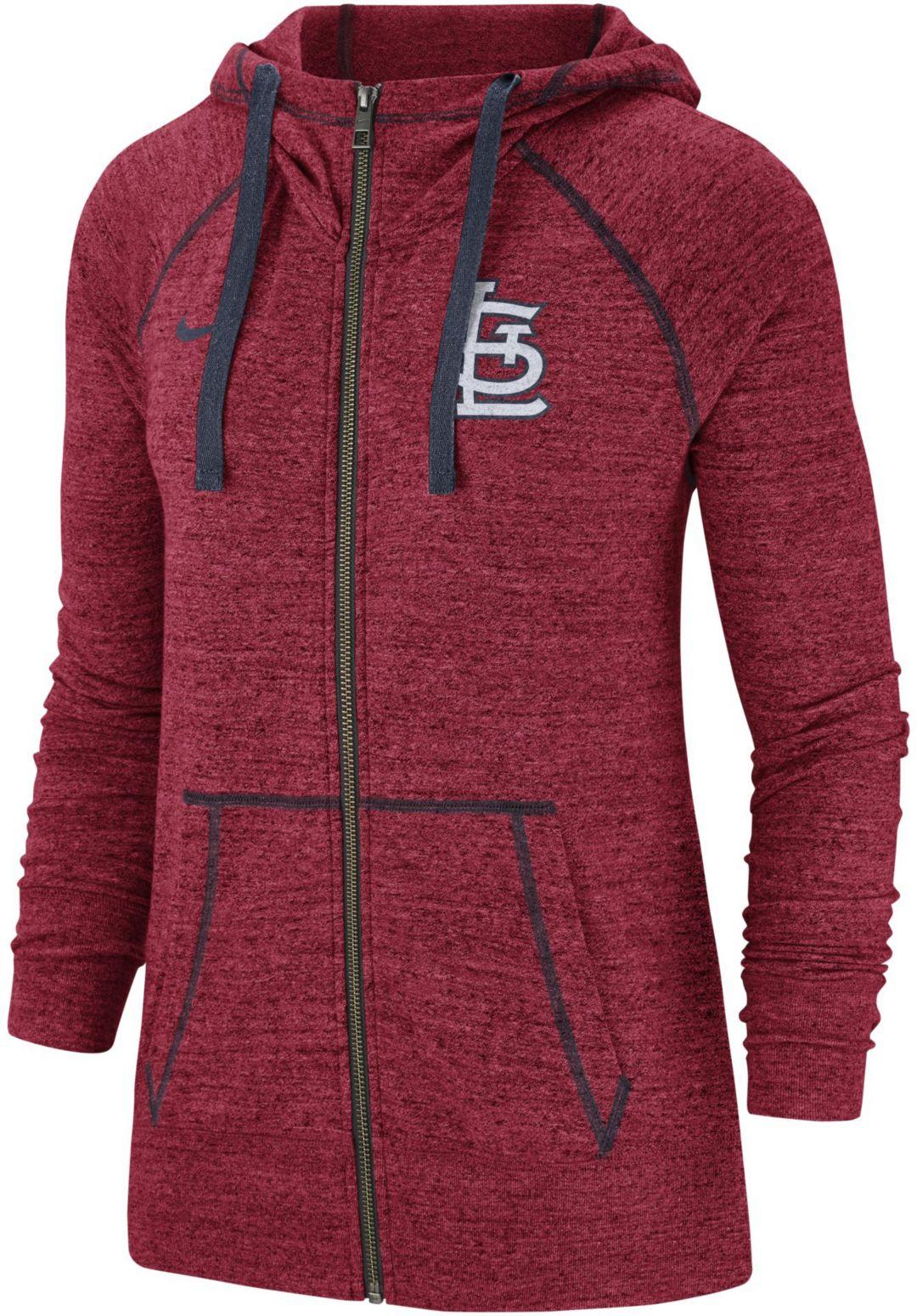 competitive price 2baf3 3eadf Nike Women's St. Louis Cardinals Vintage Full-Zip Hoodie