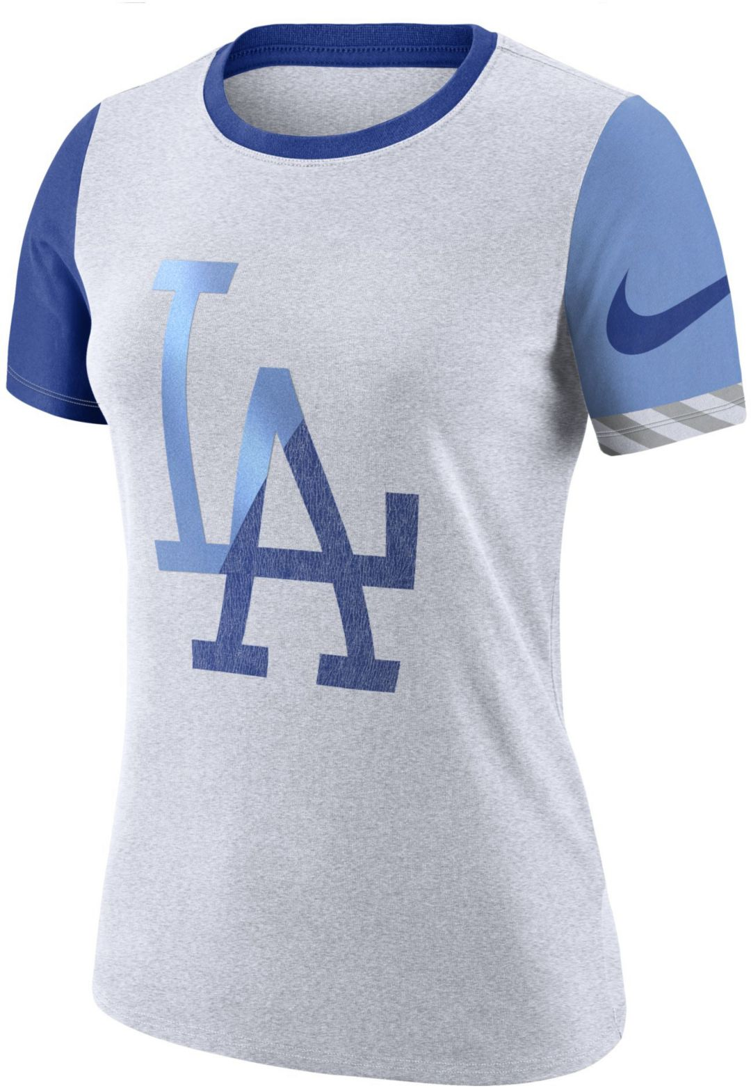 327f13d79000 Nike Women's Los Angeles Dodgers Dri-FIT Slub Logo T-Shirt. noImageFound.  Previous