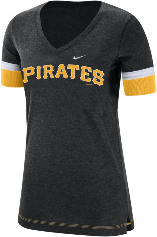 Nike Women's Pittsburgh Pirates Dri-FIT V-Neck T-Shirt product image