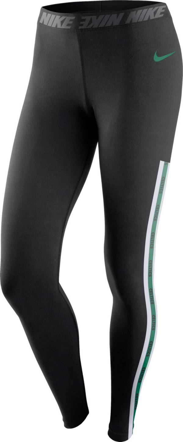 Nike Women's Boston Celtics Black Leggings product image
