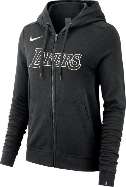 07e22cd34 Nike Women's Los Angeles Lakers Full-Zip Hoodie | DICK'S Sporting Goods