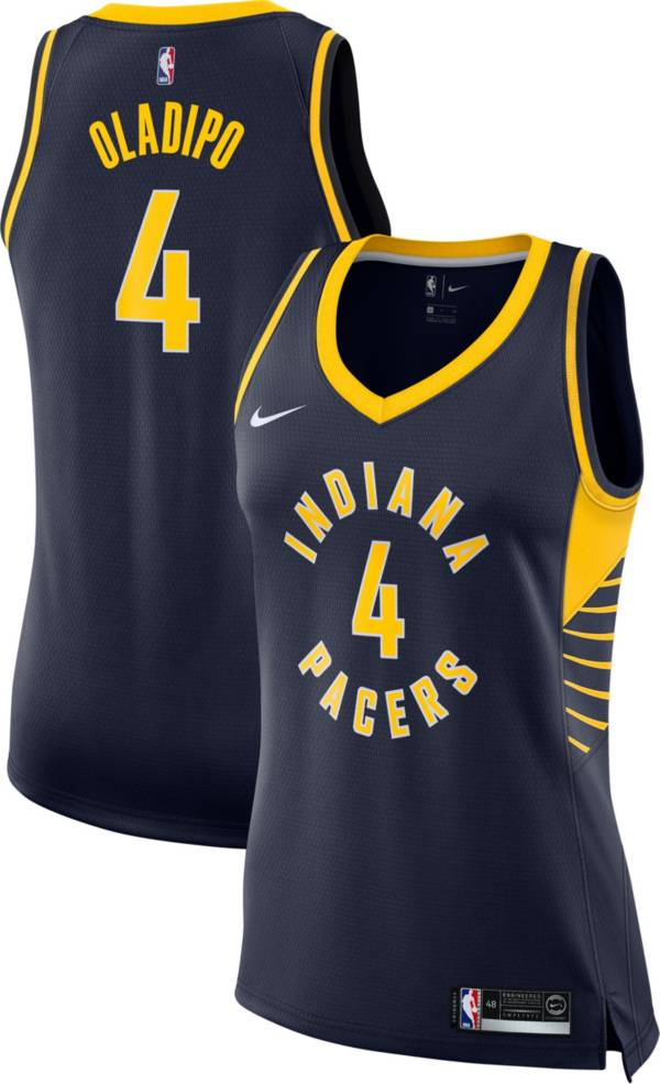 Nike Women's Indiana Pacers Victor Oladipo #4 Navy Dri-FIT Swingman Jersey product image