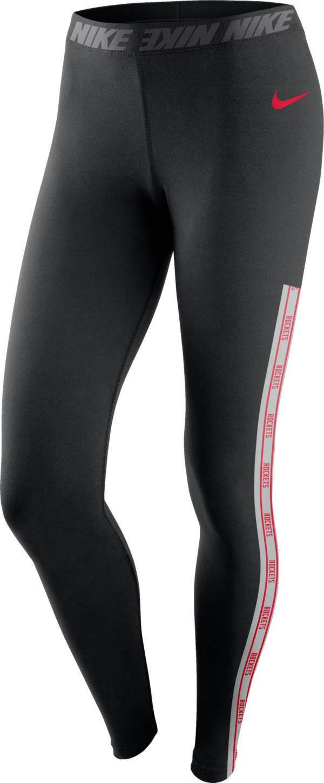 Nike Women's Houston Rockets Black Leggings product image