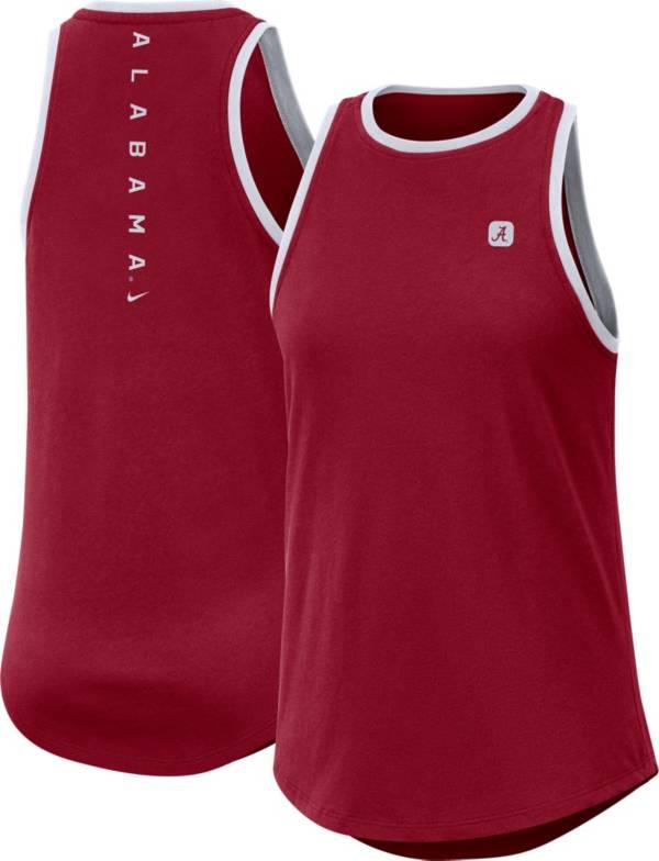 Nike Women's Alabama Crimson Tide Crimson High Neck Dri-FIT Tank Top product image