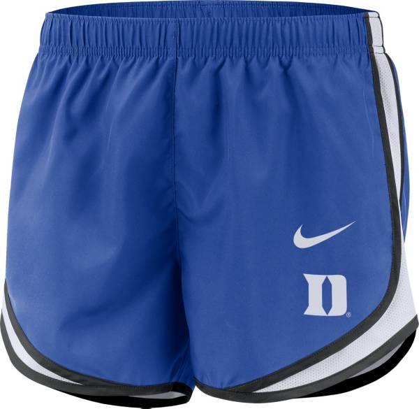Nike Women's Duke Blue Devils Duke Blue Dri-FIT Tempo Shorts product image